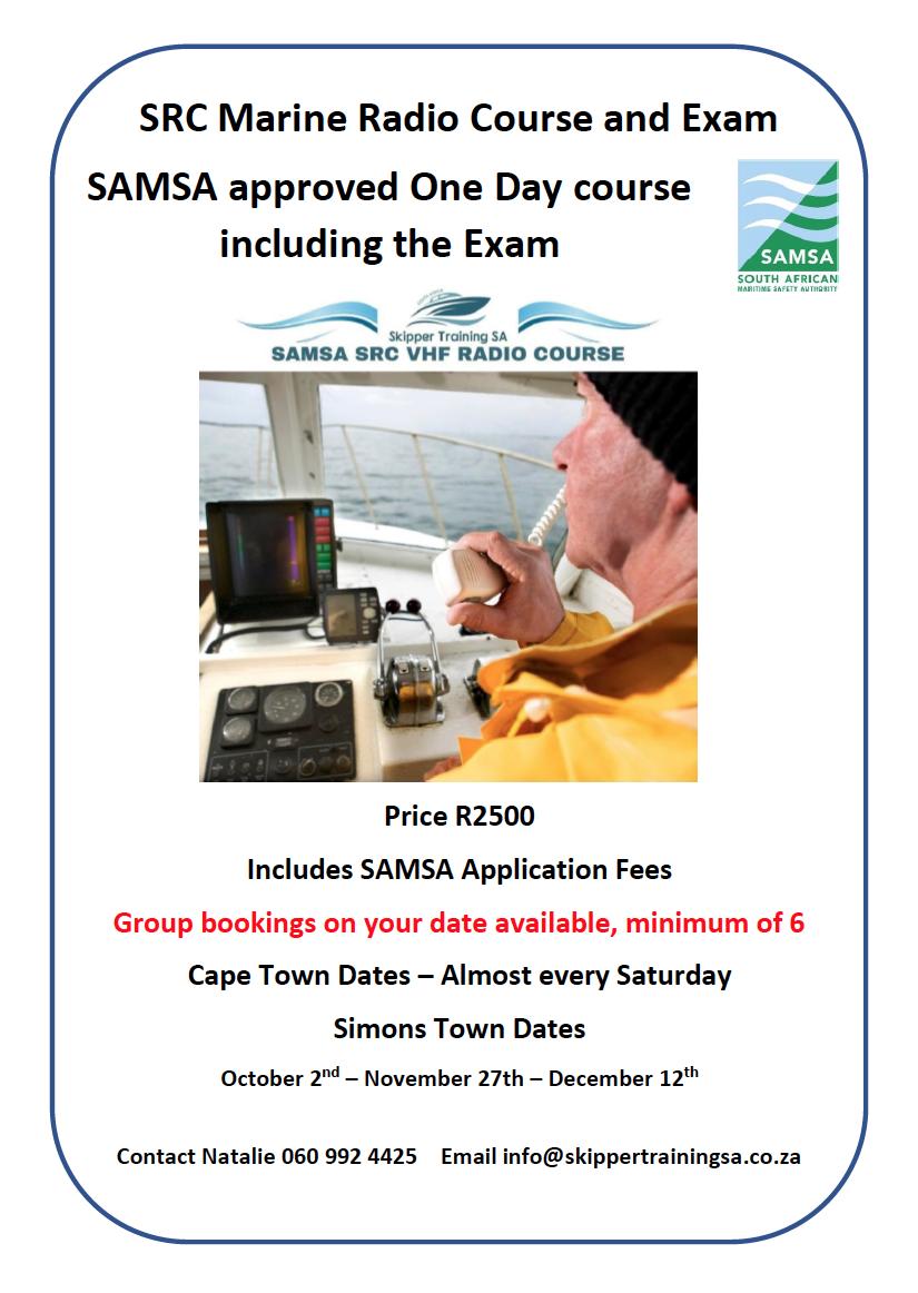 SRC Marine Radio Course and Exam